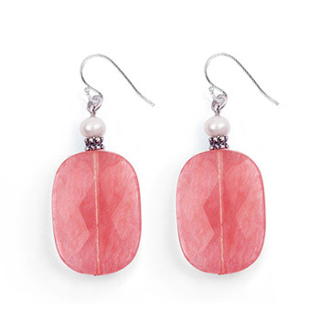 Rose Mist Earrings - Museum Shop Collection - Museum Company Photo