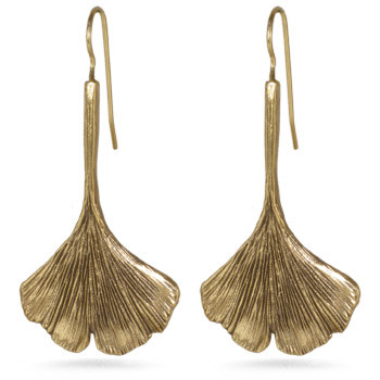 Gingko Leaf Earrings - Museum Shop Collection - Museum Company Photo