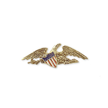 McIntire Lapel Pin, gold finish - Museum Shop Collection - Museum Company Photo