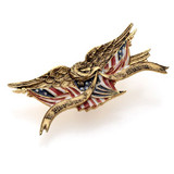 Bellamy Eagle Lapel Pin - Museum Shop Collection - Museum Company Photo