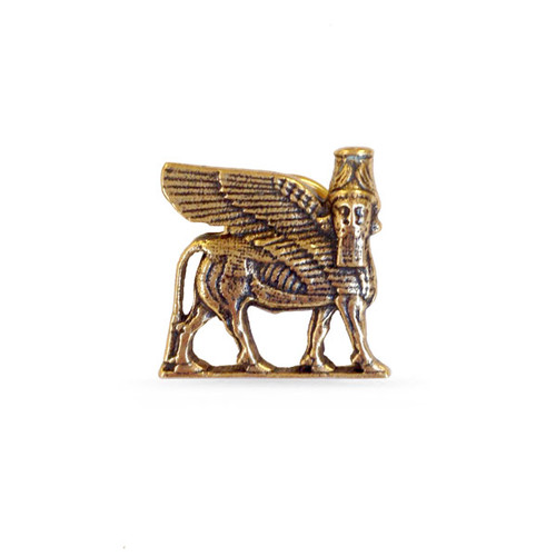 Lamassu Winged Bull Lapel Pin - Museum Shop Collection - Museum Company Photo