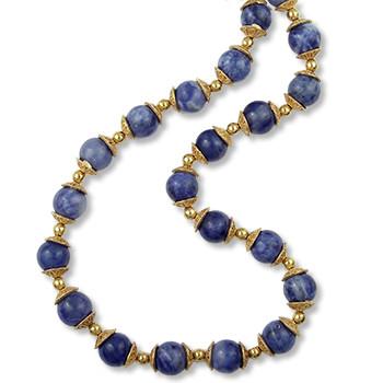 Mesopotamian Gold Cap Necklace - Museum Shop Collection - Museum Company Photo