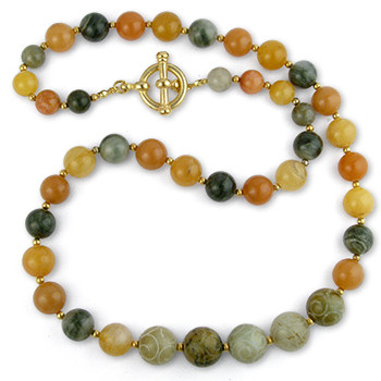 Jade Harvest Necklace - Museum Shop Collection - Museum Company Photo