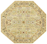 Sarouk - Beige / Beige Rug : Persian Tufted Collection - Photo Museum Store Company