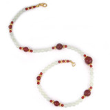 Jade and Carnelian Necklace - Museum Shop Collection - Museum Company Photo