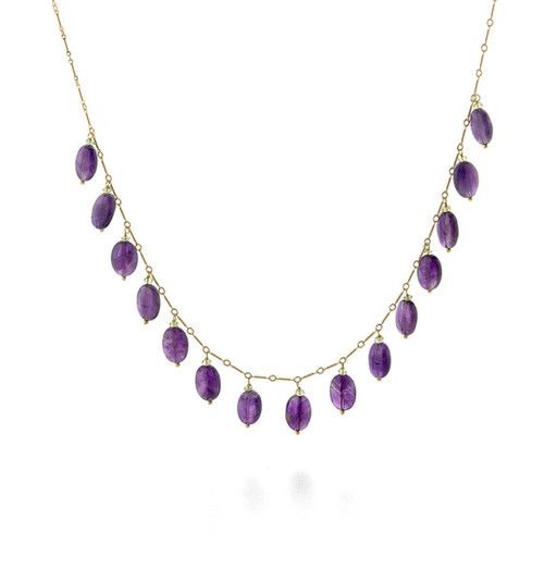 Classical Amethyst Necklace - Museum Shop Collection - Museum Company Photo