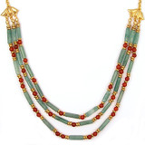 Cleopatra Aventurine Collar - Museum Shop Collection - Museum Company Photo
