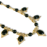 Egyptian Revival Necklace with Black Onyx - Museum Shop Collection - Museum Company Photo