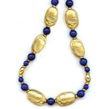 Scarab and Lapis Necklace - Museum Shop Collection - Museum Company Photo