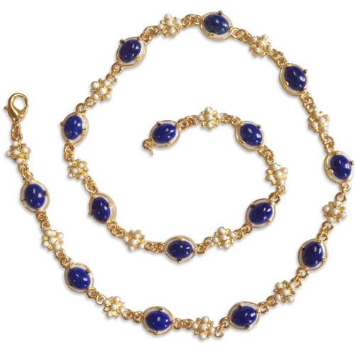Elizabethan Lapis Lazuli Necklace - Museum Shop Collection - Museum Company Photo