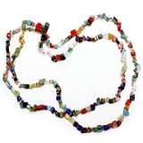 Mosaic Glass Chip Necklace - Museum Shop Collection - Museum Company Photo