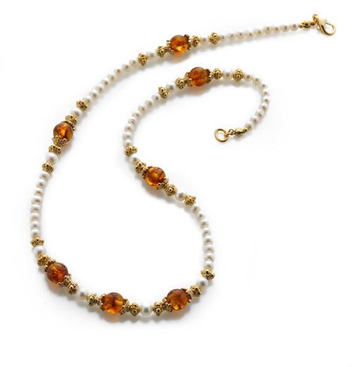 Baltic Lace Necklace - Museum Shop Collection - Museum Company Photo