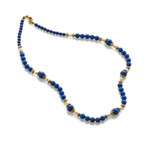 Bukhara Lapis and Pearl Necklace - Museum Shop Collection - Museum Company Photo
