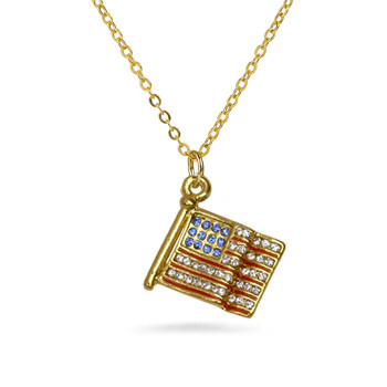 American Flag pendant - Museum Shop Collection - Museum Company Photo