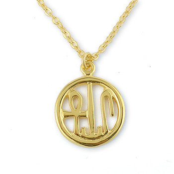 "Round Cartouche Pendant, 18"" - Museum Shop Collection - Museum Company Photo"