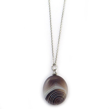 Polished Agate Pendant - Museum Shop Collection - Museum Company Photo