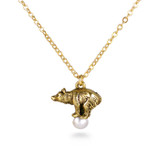 Faberge Bear on a Pearl Pendant - Museum Shop Collection - Museum Company Photo