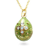 Imperial Peridot Star Egg Pendant - Museum Shop Collection - Museum Company Photo