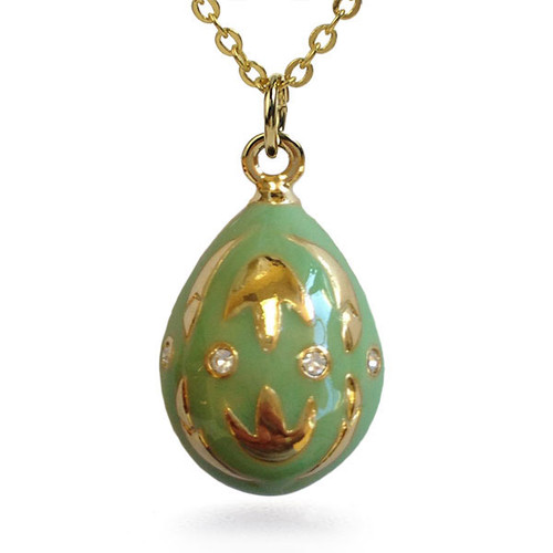 Golden Tulip Egg Pendant - Museum Shop Collection - Museum Company Photo