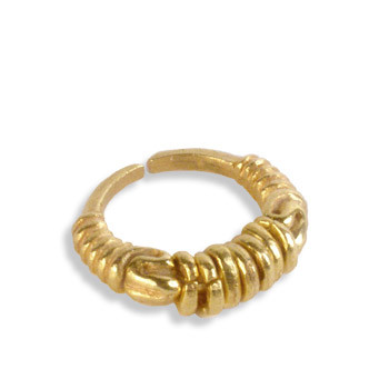 Coil Ring, adjustable - Museum Shop Collection - Museum Company Photo
