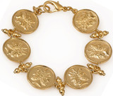 Janus double headed 6-coin bracelet - Museum Shop Collection - Museum Company Photo