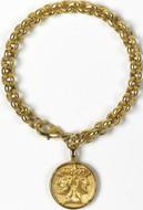 Janus double-headed bracelet, 1 charm - Museum Shop Collection - Museum Company Photo
