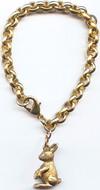 Rabbit bracelet 1-charm - Museum Shop Collection - Museum Company Photo