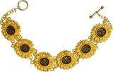 Sunflower bracelet - Museum Shop Collection - Museum Company Photo