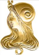 Art Nouveau Snail Woman - Museum Shop Collection - Museum Company Photo