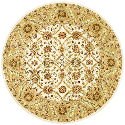 Morris - Beige / Dusty Gold Rug : Persian Tufted Collection - Photo Museum Store Company