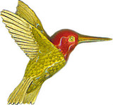Hummingbird brooch - Museum Shop Collection - Museum Company Photo