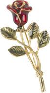 "Rose brooch, ""La Boheme"" - Museum Shop Collection - Museum Company Photo"