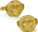 Monkey cufflinks - Museum Shop Collection - Museum Company Photo