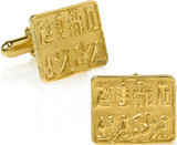 Egyptian Signet cufflinks - Museum Shop Collection - Museum Company Photo