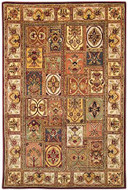 Qum - Multi / Beige Rug : Persian Tufted Collection - Photo Museum Store Company