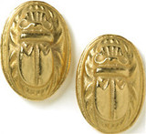 Scarab earrings - Museum Shop Collection - Museum Company Photo