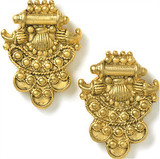 Indian post earrings - Museum Shop Collection - Museum Company Photo