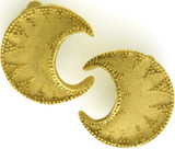 Crescent clip earrings - Museum Shop Collection - Museum Company Photo