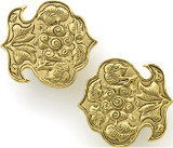 Lotus blossom clip earrings - Museum Shop Collection - Museum Company Photo
