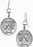 Janus double-headed earrings - Museum Shop Collection - Museum Company Photo