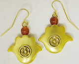 Hamsa 2-sided earrings - Museum Shop Collection - Museum Company Photo
