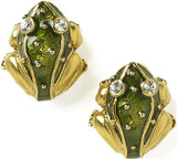 Frog post earrings, green - Museum Shop Collection - Museum Company Photo