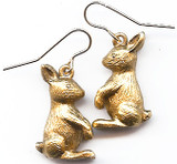 Rabbit earrings - Museum Shop Collection - Museum Company Photo