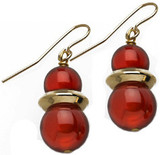 Egyptian Carnelian earrings - Museum Shop Collection - Museum Company Photo