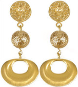 Pre Columbian Golden earrings - Museum Shop Collection - Museum Company Photo