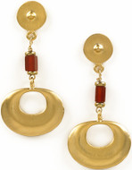 Pre-Columbian Nose ornament earrings - Museum Shop Collection - Museum Company Photo