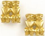 Pre Columbian Peruvian earrings - Museum Shop Collection - Museum Company Photo