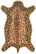 Leopard Design Rug : Contemporary Tufted Collection - Photo Museum Store Company