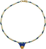 Egyptian Lotus necklace - Museum Shop Collection - Museum Company Photo