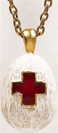 Red Cross egg pendant - Museum Shop Collection - Museum Company Photo